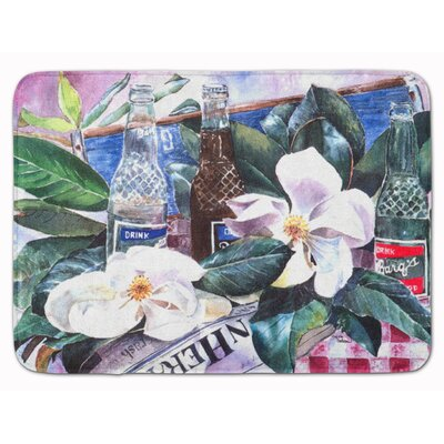 Barqs and Magnolia Memory Foam Bath Rug