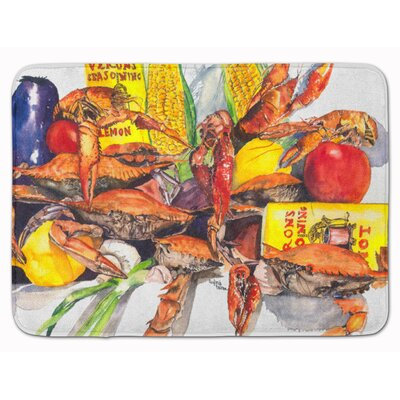 Verons and Crabs Memory Foam Bath Rug