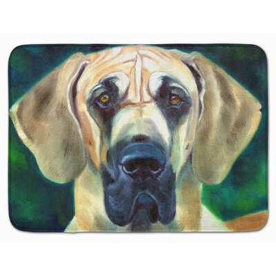 Great Dane Lookin at You Memory Foam Bath Rug