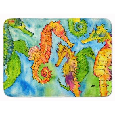 Bradenton Seahorse Memory Foam Bath Rug