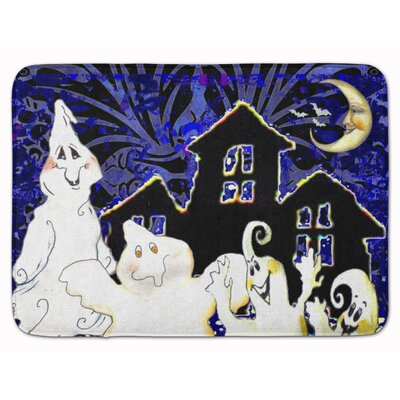 The Gangs All Here Ghosts Halloween Memory Foam Bath Rug