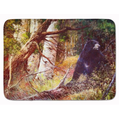 East Palo Alto Are you there Mr. Black Bear Memory Foam Bath Rug