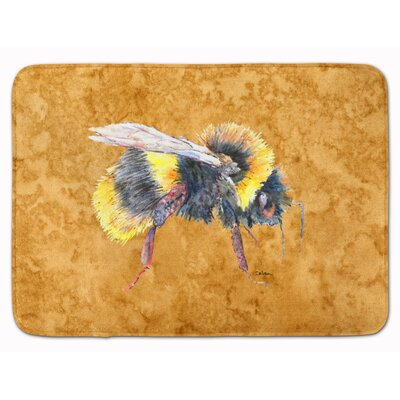 Bee Memory Foam Bath Rug