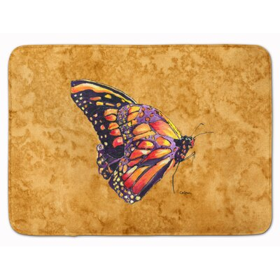 Butterfly Memory Foam Bath Rug