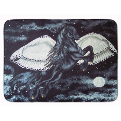 Flying Horse Memory Foam Bath Rug