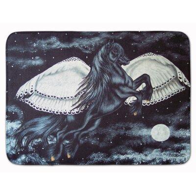 Flying Horse Memory Foam Bath Rug