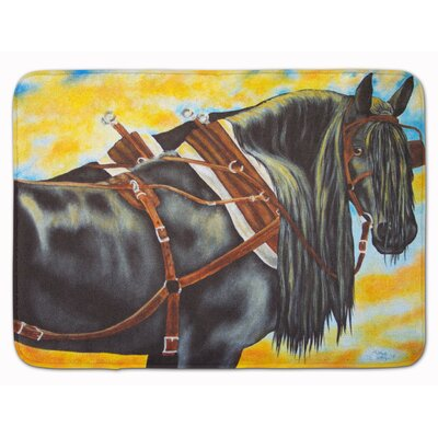Days End Horse Memory Foam Bath Rug