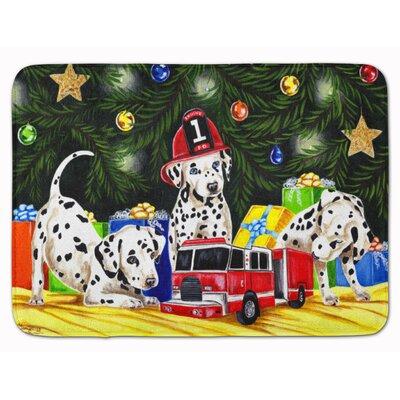 Christmas Favorite Gift Dalmatian Memory Foam Bath Rug