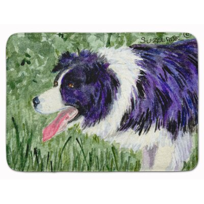 Border Collie Memory Foam Bath Rug