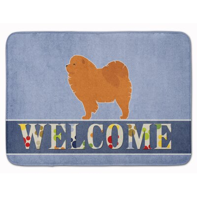 Chow Chow Welcome Memory Foam Bath Rug
