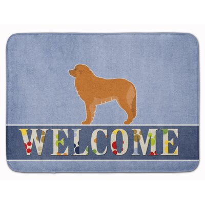 Leonberger Welcome Memory Foam Bath Rug