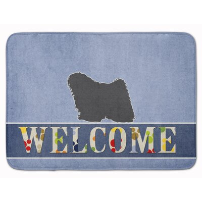 Puli Welcome Memory Foam Bath Rug