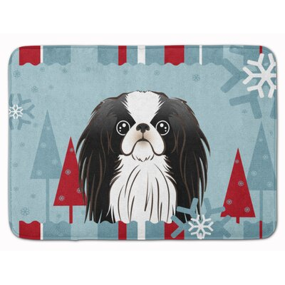 Winter Holiday Japanese Chin Memory Foam Bath Rug