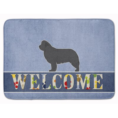 Newfoundland Welcome Memory Foam Bath Rug
