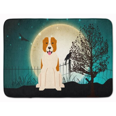 Halloween Central Asian Shepherd Dog Memory Foam Bath Rug