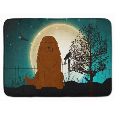 Testa Scary Caucasian Shepherd Dog Memory Foam Bath Rug