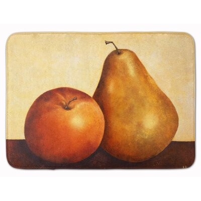 Apple and Pear Memory Foam Bath Rug