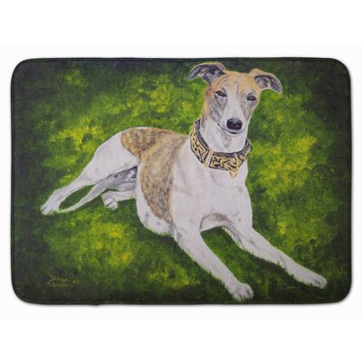 Isabella Grayhound Memory Foam Bath Rug