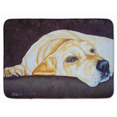 Rayland Naptime Labrador Memory Foam Bath Rug