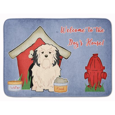 Dog House Lowchen Memory Foam Bath Rug