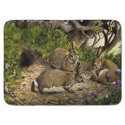 Rabbit and the Rabbit Hole Memory Foam Bath Rug