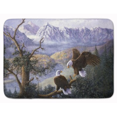 Eagles by Daphne Baxter Memory Foam Bath Rug