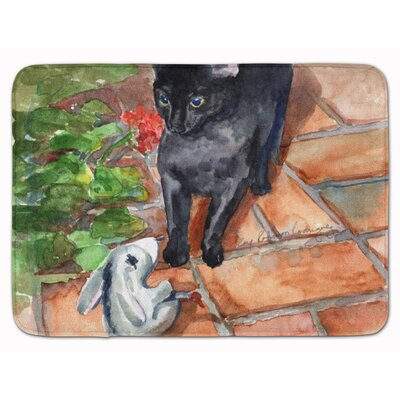 Cat Memory Foam Bath Rug