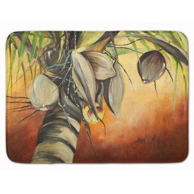 Coconut Tree Memory Foam Bath Rug