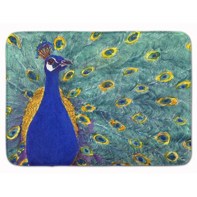 Peacock Memory Foam Bath Rug