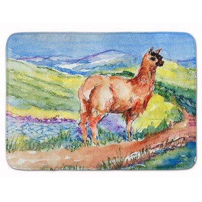 Richbell Llama Memory Foam Bath Rug