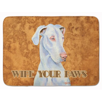 Great Dane Wipe your Paws Memory Foam Bath Rug