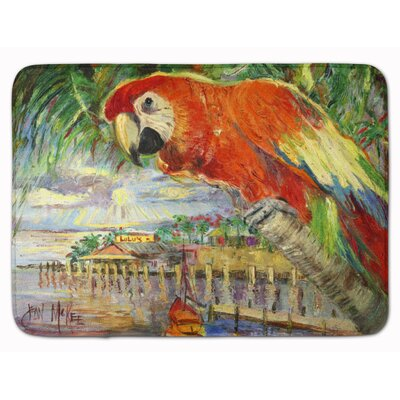 Parrot at Lulus Memory Foam Bath Rug