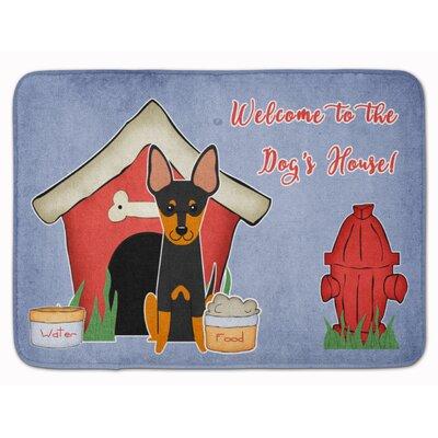 Dog House English Toy Terrier Memory Foam Bath Rug