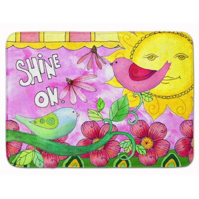 Shine on Sunshine Memory Foam Bath Rug