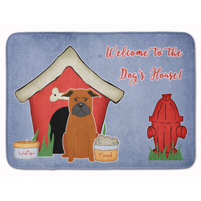 Dog House Chinese Chongqing Dog Memory Foam Bath Rug