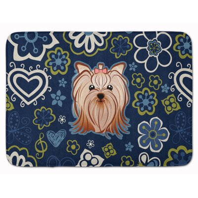 Yorkshire Terrier Memory Foam Bath Rug