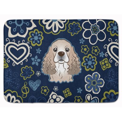Cocker Spaniel Memory Foam Bath Rug