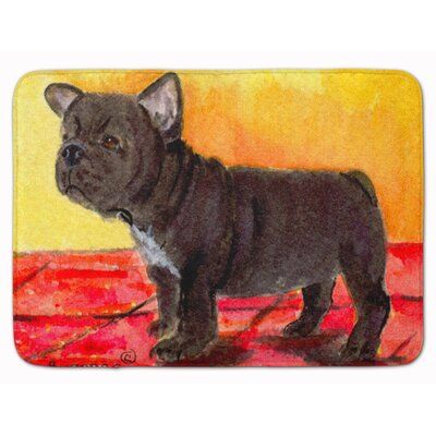French Bulldog Memory Foam Bath Rug