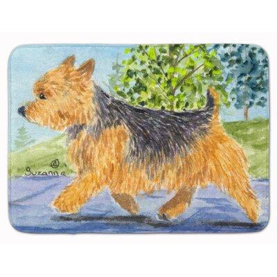Norwich Terrier Memory Foam Bath Rug