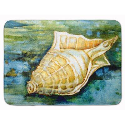 Seashells Inspire Me Memory Foam Bath Rug