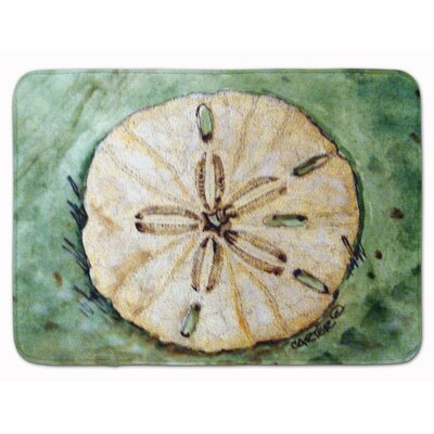 Sending Sand Dollars Back to Sea Memory Foam Bath Rug