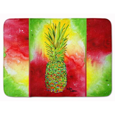 Azalea Pineapple Memory Foam Bath Rug