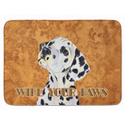 Dalmatian Wipe your Paws Memory Foam Bath Rug