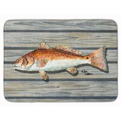 Fish Memory Foam Bath Rug
