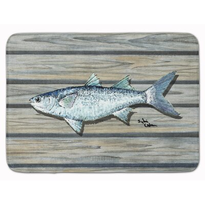 Fish Mullet Memory Foam Bath Rug