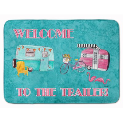 Another Day in Paradise Memory Foam Bath Rug