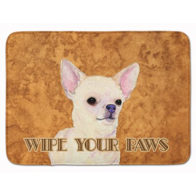 Chihuahua Wipe your Paws Memory Foam Bath Rug