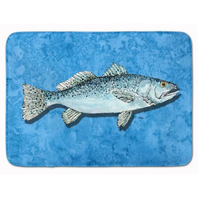 Trout Memory Foam Bath Rug
