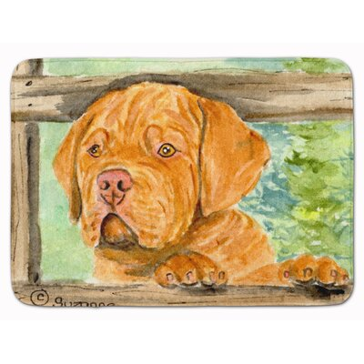 Dogue de Bordeaux Memory Foam Bath Rug