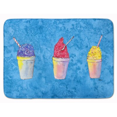 Snowballs and Snowcones Memory Foam Bath Rug